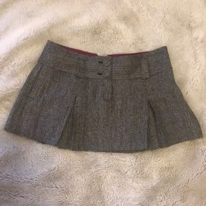 Size 10 Wool mini skirt from American Eagle
